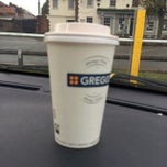 Photo taken at Greggs by Michael L. on 10/18/2014