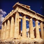 Photo taken at Ακρόπολη Αθηνών (Acropolis of Athens) by Игорь З. on 7/23/2013