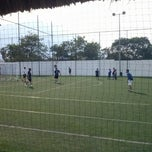 Photo taken at Fut 7 Premier (Rayados Escuela Oficial Mitras) by Luisa R. on 4/7/2013