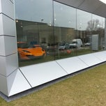 Photo taken at McLaren Flagshipstore by Misa P. on 2/28/2013