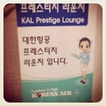 Photo taken at Korean Air Lounge by Peter H. on 12/4/2011