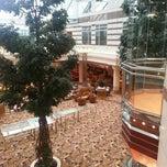 Photo taken at Hilton Paris Charles de Gaulle Airport by Margarita H. on 12/27/2012