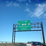 Photo taken at NJ Turnpike Exit 14 by Emily✨ on 11/23/2013