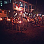 Photo taken at Seaslug's Beach Bar And Resto by Nathan Bruce T. on 3/14/2013