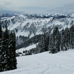 Photo taken at Foggy Goggle Bar & Grill (Stevens Pass) by Brandon S. on 4/19/2014
