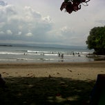 Photo taken at Pantai Batu Karas by Rans H. on 3/24/2013