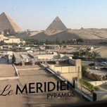 Photo taken at Le Méridien Pyramids Hotel & Spa by Ahmed S. on 4/12/2013