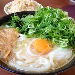 Photo taken at 牧のうどん 早良店 by mocchi_p on 4/29/2013