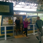 Photo taken at Towers PRT Station by Julie W. on 8/13/2014