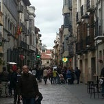 Photo taken at Calle Mayor by Javier C. on 3/28/2013