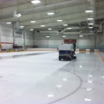 Photo taken at Ice Centre at the Promenade by Dan W. on 11/10/2012