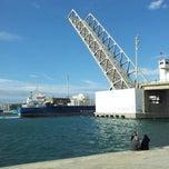 Photo taken at Pont de Bizerte by Majed C. on 3/10/2013