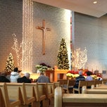 Photo taken at St James the Apostle Catholic by Andy P. on 1/1/2013