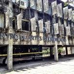Photo taken at CAC - Centro de Artes e Comunicação by Joaquin P. on 10/22/2012