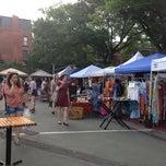 Photo taken at Brooklyn Flea - Fort Greene by Cece on 6/15/2013