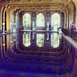 Photo taken at Hearst Castle Roman Pool by Zach L. on 10/16/2013