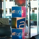 Photo taken at Aloft Austin At The Domain by Jil H. on 10/14/2012