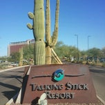 Photo taken at Casino Arizona at Talking Stick by Uchenna O. on 10/29/2012