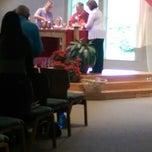 Photo taken at St John the Baptist Church by Paul H. on 6/29/2014