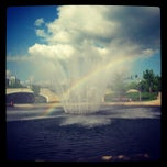 Photo taken at Big Spring Park by Michele S. on 4/29/2013