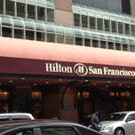 Photo taken at Hilton San Francisco Union Square by Lori K. on 1/5/2013