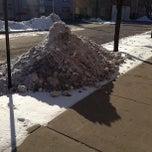 Photo taken at CTA Bus Stop 7861 by Micah P. on 2/24/2013