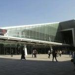 Photo taken at Bibliotheca Alexandrina | مكتبة الإسكندرية by Mostafa H. on 11/18/2012