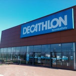 Photo taken at Decathlon Szombathely by Bálint V. on 10/31/2012