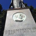 Photo taken at William McKinley Statue by Max S. on 7/26/2014