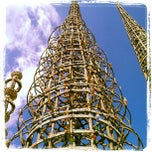 Photo taken at Watts Towers by Greg B. on 2/11/2013
