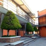 Photo taken at Universidad La Salle Pachuca Campus La Luz by Edgar H. on 2/1/2013