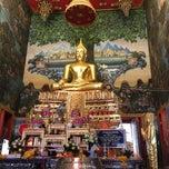 Photo taken at วัดไร่ขิง (วัดมงคลจินดาราม) Wat Rai King (Wat Mongkhon Chindaram) by NaMWhaN S. on 6/24/2013