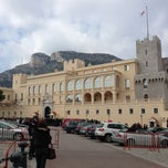 Photo taken at Palais Princier de Monaco by Jucy on 3/27/2013