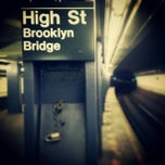 Photo taken at MTA Subway - High St/Brooklyn Bridge (A/C) by Darius A. on 2/3/2013