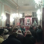 Photo taken at Ayuntamiento de Alcalá de Henares by Enrique M. on 12/18/2012