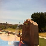 Photo taken at Lake Skinner Splash Pad by Nathan-Laurie T. on 7/18/2013