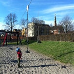 Photo taken at Legeplads Christianhavns Volde by Ratanatip K. on 4/21/2013