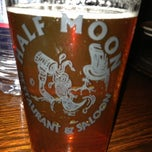 Photo taken at Half Moon Saloon by Scott W. on 2/23/2013