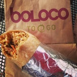 Photo taken at Boloco by Joselin M. on 7/8/2013