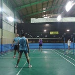 Photo taken at Grand Futsal Kuningan by Novie A. on 1/20/2013