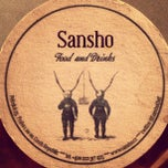 Photo taken at Sansho by Tomáš J. on 3/9/2013