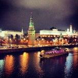 Photo taken at Большой Каменный мост / Bolshoy Kamenny Bridge by Irene S. on 11/26/2012
