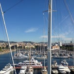 Photo taken at Marina Port Vell by Regina S. on 6/15/2013