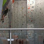 Photo taken at Big Rock Climbing Centre by Wendy B. on 4/14/2013