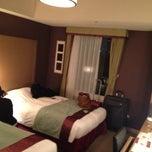 Photo taken at ホテルモントレ赤坂 (Hotel Monterey Akasaka) by Laura D. on 4/15/2013