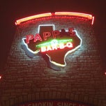 Photo taken at Pappas Bar-B-Q by J . on 1/5/2013