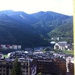 Photo taken at Hotel Sant Jordi by Helen D. on 8/7/2014