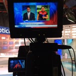 Photo taken at TV Azteca Noreste by JOn P. on 5/19/2015