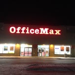Photo taken at OfficeMax by Maurice B. on 1/29/2014
