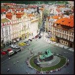 Photo taken at Staroměstské náměstí | Old Town Square by Viktor P. on 5/17/2013